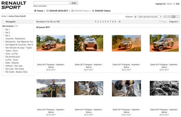 Renault Sport Duster Dakar Team