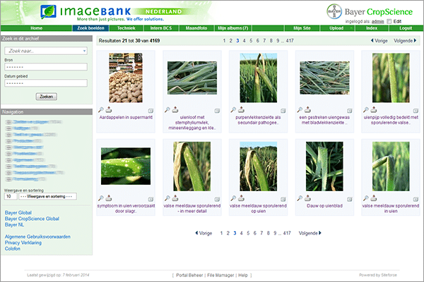 Digital Asset Management software Bayer Cropscience MediaFiler