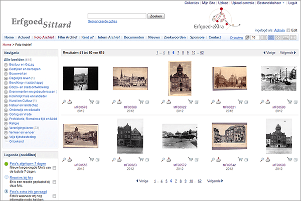 Media bank Sittard Heritage MediaFiler Digital Asset Management software
