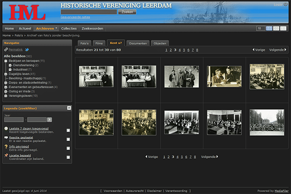 Portfolio MediaFiler Historisch Vereniging Leerdam